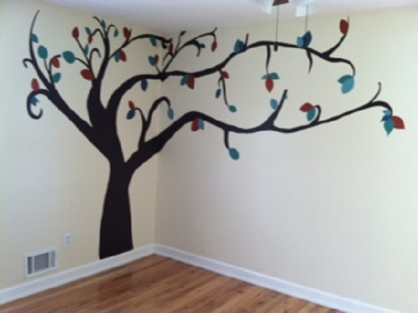 Girls Room Tree Mural